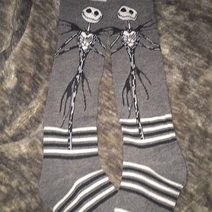 Jack the Skeleton from Nightmare Before Xmas Socks